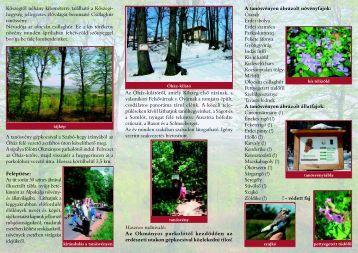 Csillaghúr tanösvény - Őrségi Nemzeti Park