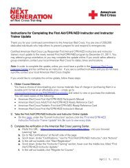 Instructions for Completing the First Aid/CPR ... - Instructor's Corner