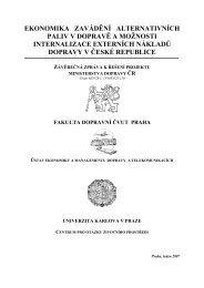 Závěrečná zpráva za roky 2004 - 2006 (leden 2007) - Alternativní ...