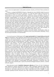 """Il progetto """"carta vocazionale della provincia di ... - Archivio Rete Poli"""