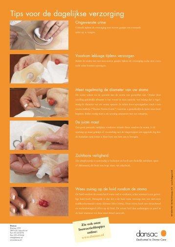 Tips voor de dagelijkse verzorging
