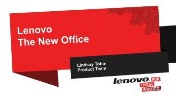 Lenovo: The New Office Sydney Melbourne