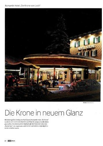 Hotelstyle Die Krone in neuem Glanz, Frühjahr 2012 - Thurner ...