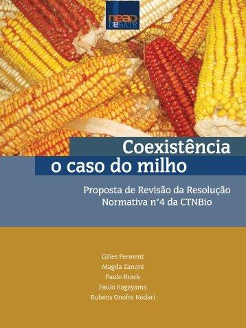 Coexistência o caso do milho - Biblioteca Setorial do Centro de ...