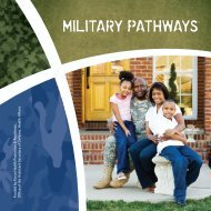 Military Pathways® - Army OneSource