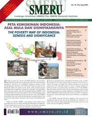 PETA KEMISKINAN INDONESIA - SMERU Research Institute