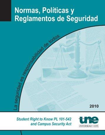Normas, PolÃticas y Reglamentos de Seguridad - Sistema ...