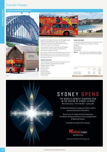 SYDNEY OPENS - Sunlover Holidays