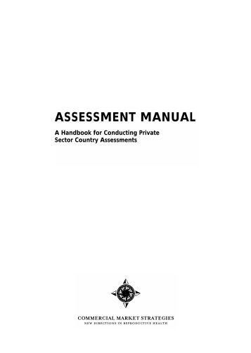 ASSESSMENT MANUAL - SHOPS Project