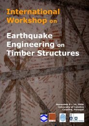 International Workshop on Earthquake Engineering on ... - enmadera