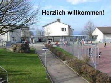 Praesentation Einschulungselternabend - Primarschule Berikon