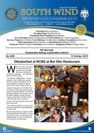Oktoberfest at RCBS at Bei Otto Restaurant - The Rotary Club of ...