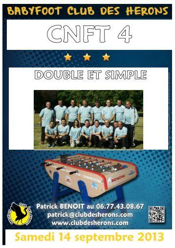 Fabienne maillefer steeve di marco samedi 7 septembre 2013 - Federation francaise de football de table ...