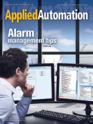 Tips for starting an alarm management program - Emerson Process ...