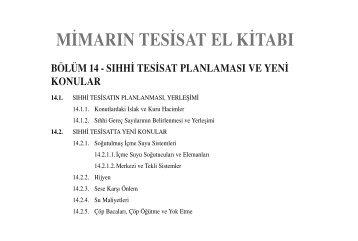 m‹marın tes‹sat el k‹tabı - reform.com.tr