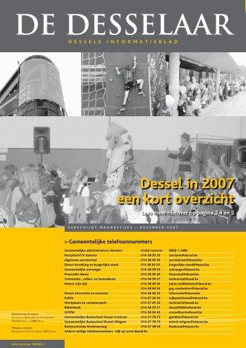 DE DESSELAAR - Gemeente Dessel