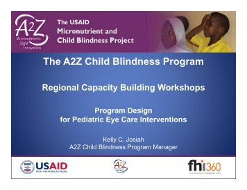 A2Z Regional Capacity Building Workshops - A2Z: The USAID ...