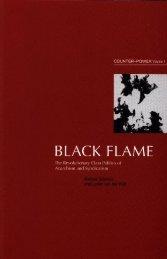 Lucien Van Der Walt and Michael Schmidt Black Flame vol 1