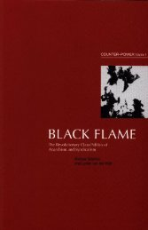 Lucien Van Der Walt and Michael Schmidt Black Flame vol 1