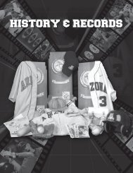 History & records - University of Arizona Athletics