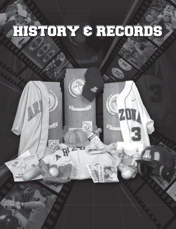 History & records - University of Arizona Athletics