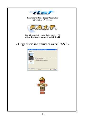 Manuel de l 39 organisateur comit du gard f d ration - Federation francaise de football de table ...