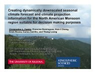 Creating dynamically downscaled seasonal climate forecast and ...