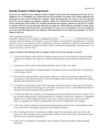 Vehicle maintenance inspection form fcci insurance group sample company vehicle agreement fcci insurance group platinumwayz
