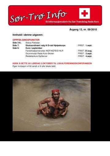August - Røde Kors