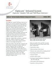 GTT Opticom Infrared 752E and 754E Phase Selectors - Temple, Inc.