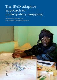 The IFAD adaptive approach to participatory mapping