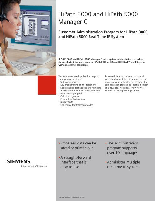 Setting up a sip provider on a siemens hipath 3000 pbx | go-unified.