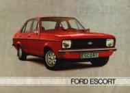 Ford Escort II - Skandynawia - Capri.pl