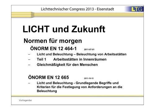 Nice Analyse Der Neuerungen EN 12464   Innenbeleuchtung