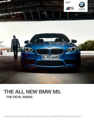 THE ALL NEW BMW M. - BMW New Zealand