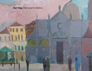 Earl Haig Memorial Exhibition - The Scottish Gallery