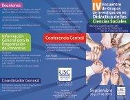 Didáctica de las - Universidad Santiago de Cali