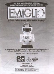 to Download the Emiglio Owner's Manual - RobotsAndComputers.com