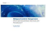 Maßgeschneiderte Stangenware - wibas GmbH