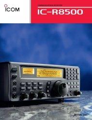 IC-R8500 leaflet