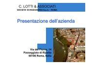 C. LOTTI & ASSOCIATI SOCIETÀ DI INGEGNERIA SpA - Economisti ...
