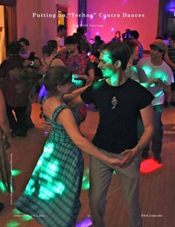 """Putting on """"Techno"""" Contra Dances"""