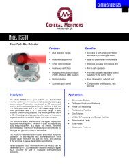 Open Path Gas Detector for Hydrocarbon Gas Leaks - Simark Controls