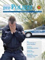 proPOLIZEI, Juli/August 2013 - Niedersächsisches Ministerium für ...