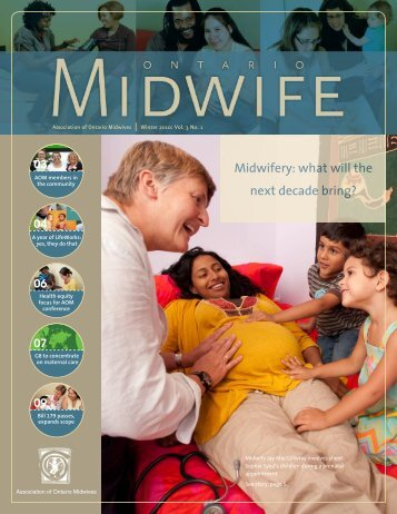 Midwifery: what will the next decade bring? - Association of Ontario ...