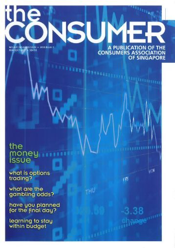 Issue 1 - Consumers Association of Singapore