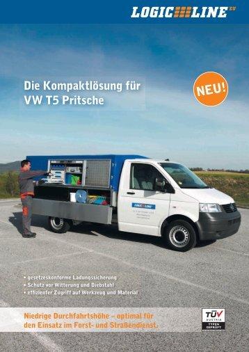 Die Kompaktlösung für VW T5 Pritsche - LLE Vertriebs GmbH