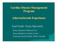 Cardiac Disease Management Cardiac Disease ... - RM Solutions