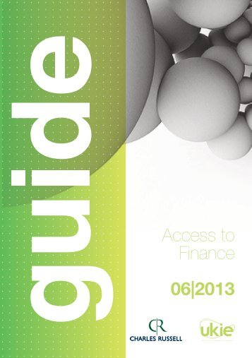 Access to Finance 06|2013 - Charles Russell
