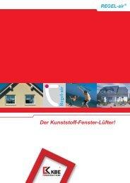 Der Kunststoff-Fenster-Lüfter! - KBE